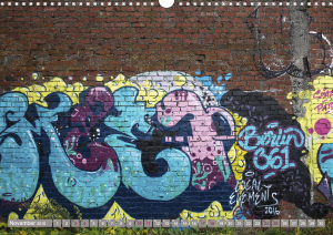 Street Art 2018 Calvendo 2-12