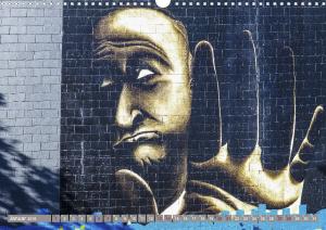 Street Art 2018 Calvendo 2-2