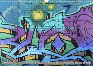 Street Art 2018 Calvendo 2-3