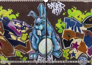 Street Art 2018 Calvendo 2-5